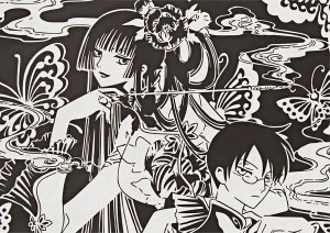 伽羅切絵「xxxHOLiC」30th Anniv.